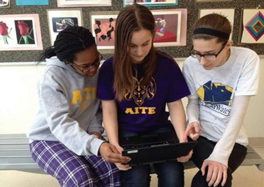 Students at the Academy of Information Technology & Engineering have been honored for creating a mobile app concept to help teens work through life's stressors.