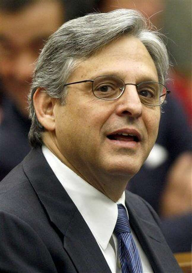 FILE - In this May 1, 2008, file photo, Judge Merrick B. Garland is seen at the federal courthouse in Washington. President Obama is expected to nominate Merrick Garland to the Supreme Court. (AP Photo/Charles Dharapak, File)