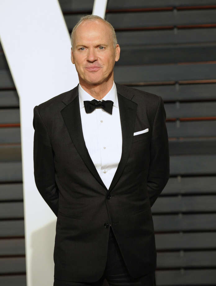 Michael Keaton arrives at the 2015 Vanity Fair Oscar Party, early Monday, Feb. 23, 2015, in Beverly Hills, Calif. (Photo by Evan Agostini/Invision/AP)