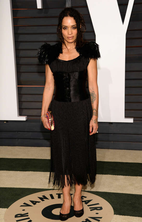 Lisa Bonet arrives at the 2015 Vanity Fair Oscar Party on Sunday, Feb. 22, 2015, in Beverly Hills, Calif. (Photo by Evan Agostini/Invision/AP)