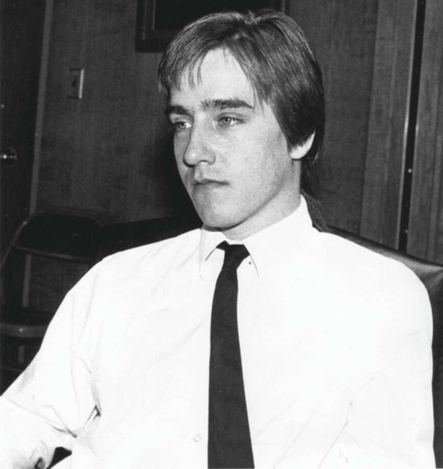 "This 1990 photo shows Derek Oatis in Connecticut. Oatis was arrested in 1984 for trafficking cocaine from Venezuela for his fellow prep school classmates at Choate Rosemary Hall in Wallingford, Conn. More than 30 years later, he runs a law practice in Manchester, Conn. His story inspired the new film, ÒThe Preppie Connection."" (Howard Iwanicki/Record-Journal via AP) MANDATORY CREDIT"