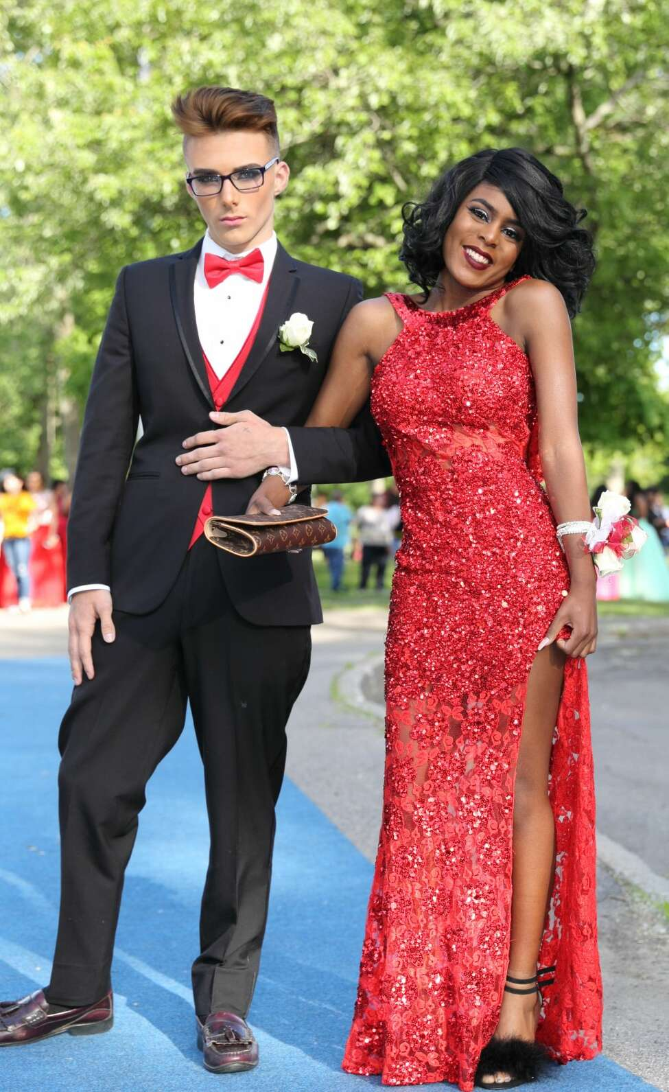 Were you Seen at the Schenectady High School Junior/Senior prom walk-in at the high school on Friday, June 10, 2016?