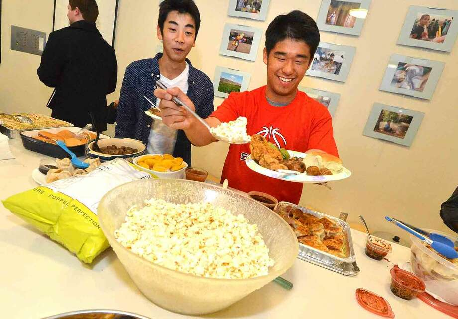 Hour Photo/Alex von Kleydorff An evening filled with food, fun and events as the Center for Global Studies commemorated its relationship with one of its sister schools, Kojo High School in Kojo, Japan.