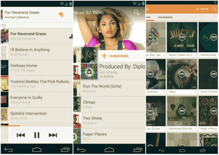 Google Play Music 5.4 Update