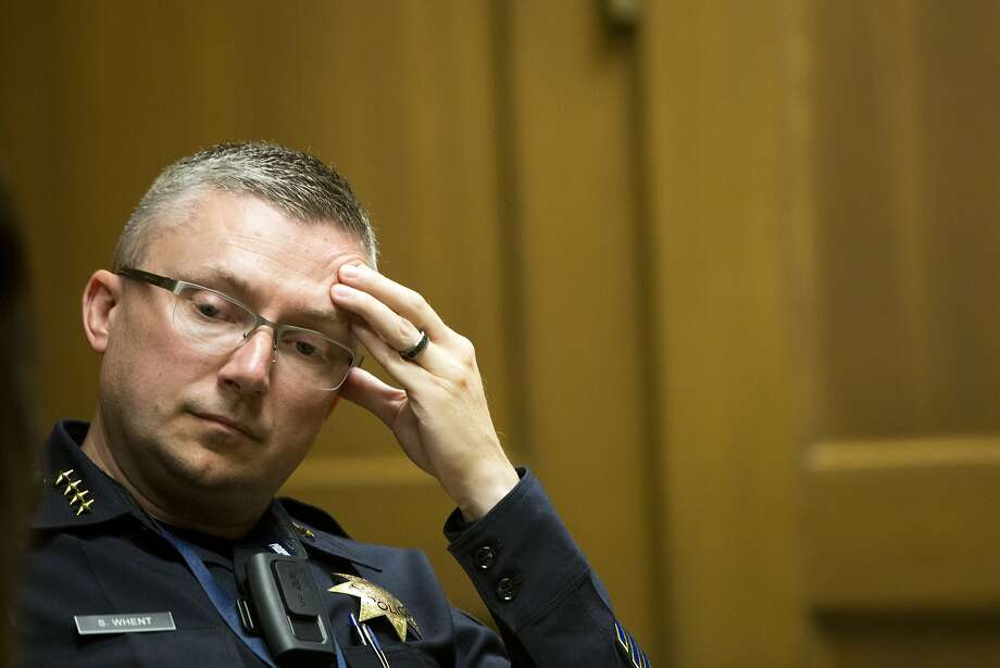 Oakland Police Chief Sean Whent, who was seen by many as a powerful reformer, quit last week in the wake of scandals involving rank-and-file officers. Photo: Erin Brethauer, The Chronicle