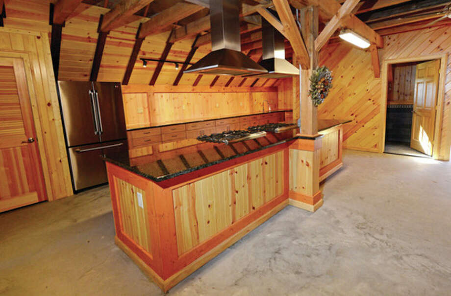 Hour photo / Erik TrautmannThe Fodor Farm fundraiser collaboration between NPT, Nowalk Rec & Parks to benefit the rehabilitation of the Fodor Farm property set for thie weekend and will utilize the barn's new kitchen. / (C)2013, The Hour Newspapers, all rights reserved