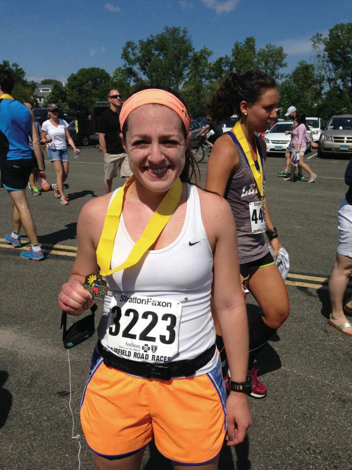 Casey Osgood, a 2010 Wilton High School graduate, plans to run the Boston Marathon to raise money for cancer research.