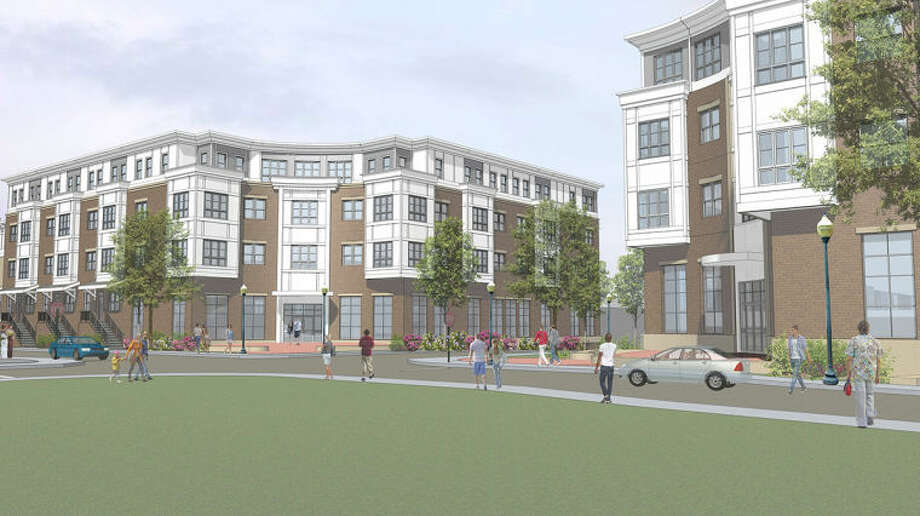 Contributed renderingA rendering of the Washington Village rebuild which was approved late Wednesday night by the Norwalk Zoning Commission.