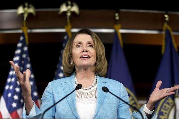 House Minority Leader Nancy Pelosi of Calif. speaks during a news conference on Capitol Hill in Washington, Thursday, June 9, 2016. (AP Photo/Alex Brandon)