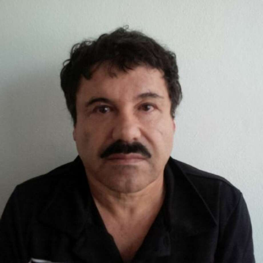 """In this image released by Mexico's Attorney General's Office, Saturday, Feb. 22, 2014, Joaquin """"El Chapo"""" Guzman is photographed against a wall after his arrest in the Pacific resort city of Mazatlan, Mexico. An operation through the western Mexican state of Sinaloa last week netted the world's top drug lord, who was captured early Saturday by U.S. and Mexican authorities in Mazatlan, officials from both countries said. (AP Photo/PGR)"""