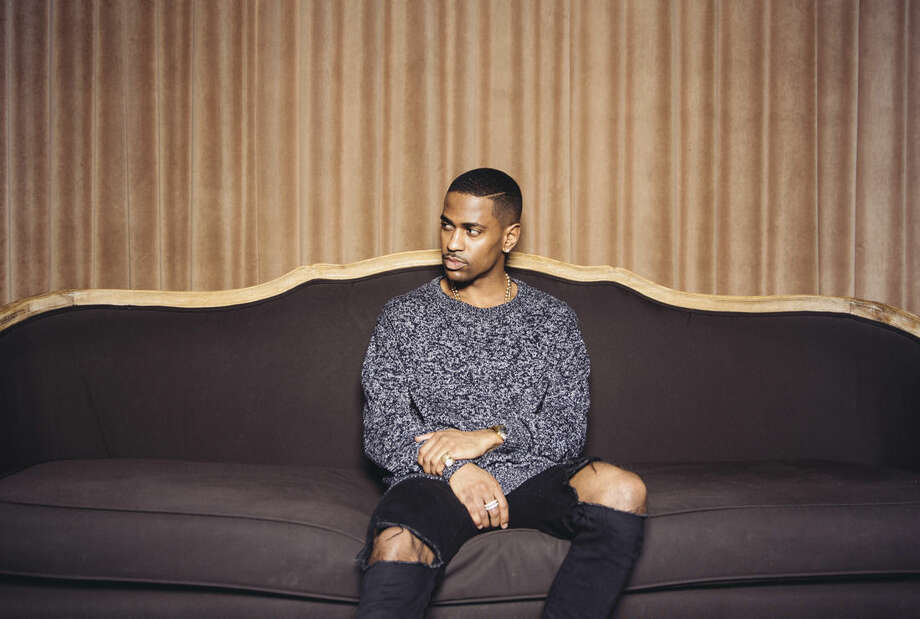 "FILE - In this Feb. 19, 2015 file photo, singer Big Sean poses for a portrait at The Redbury Hotel in Los Angeles to promote his latest album, ""Dark Sky Paradise."" (Photo by Casey Curry/Invision/AP, File)"