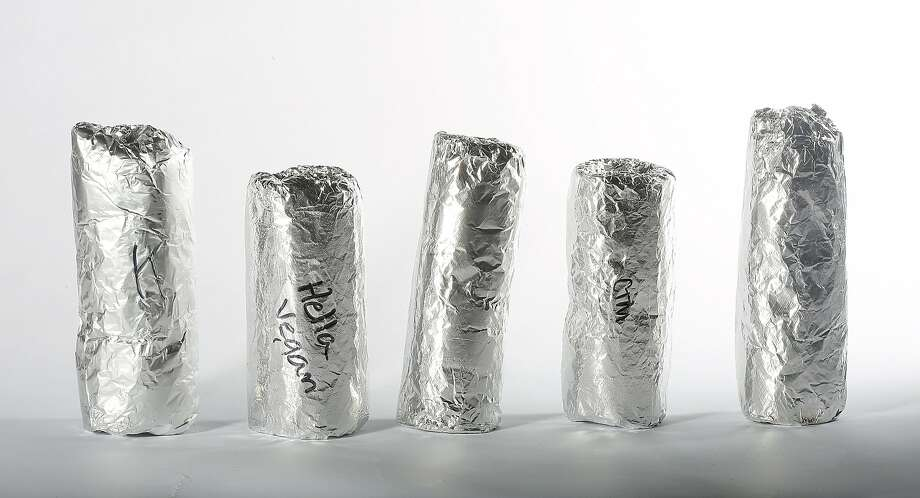 A new generation of foil-wrapped burritos in S.F. Photo: Liz Hafalia, The Chronicle