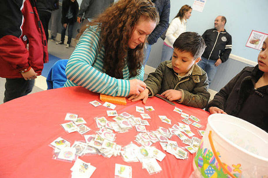 The South Norwalk Community Center where Latinos Unidos of Connecticut celebrated Easter.Hour photo/Matthew Vinci