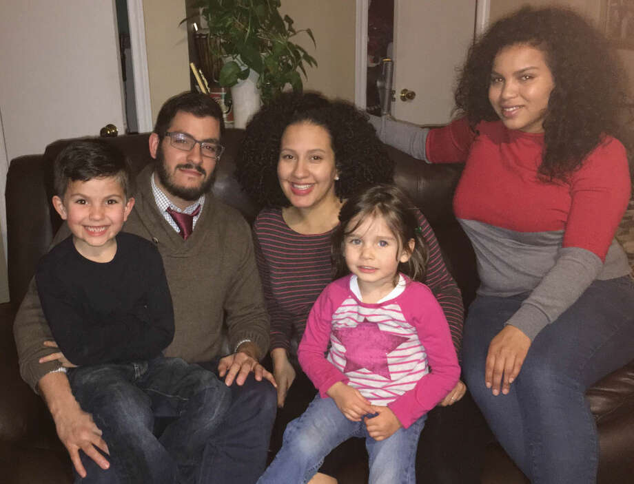The Rodriguez family are among the many families that have benefited from Kids in Crisis programming. Pictured from left to right are:Zac, Daniel, Brina, Zoe and Leah.