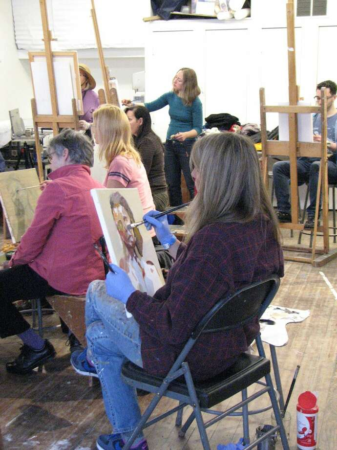 """Local artists are invited to """"Draw Until You Drop!""""at Silvermine Art Center this Saturday. The nine-hour drawing marathon will be held at the studio, 1037 Silvermine Road, New Canaan."""