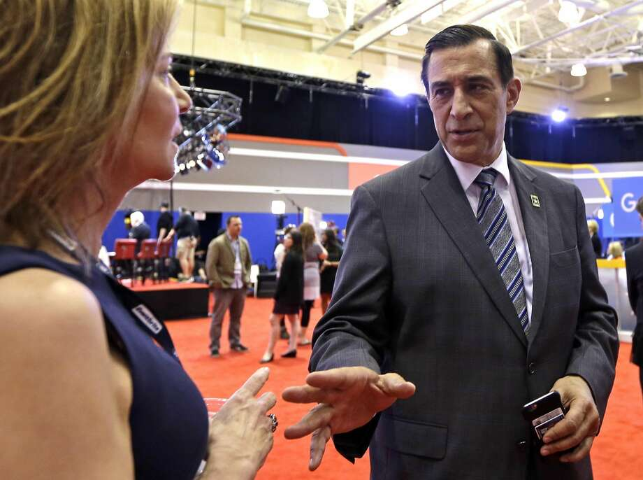 GOP Rep. Darrell Issa face s a Democrat in a runoff. Photo: Alan Diaz, AP