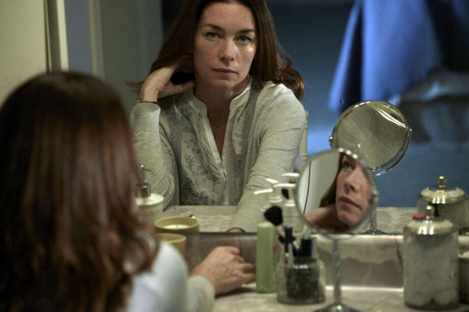 """This image released by SundanceTV shows Julianne Nicholson in a scene from """"The Red Road,"""" a series premiering Feb. 27, 2014 at 9 p.m. EST. (AP Photo/SundanceTV, James Minchin)"""