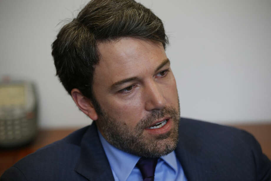 AP Photo/Charles DharapakActor Ben Affleck is interviewed by the Associated Press regarding Congo, Wednesday, Feb. 26, at the State Department in Washington. Affleck sees a window of hope in the Congo after years of strife and he's urging Congress not to let the opportunity for progress slip away. Affleck is the founder of the Eastern Congo Initiative, a four-year-old advocacy organization dedicated to peace and prosperity in the region. The actor and director was meeting with senators and testifying before the Senate Foreign Relations Committee on Wednesday.