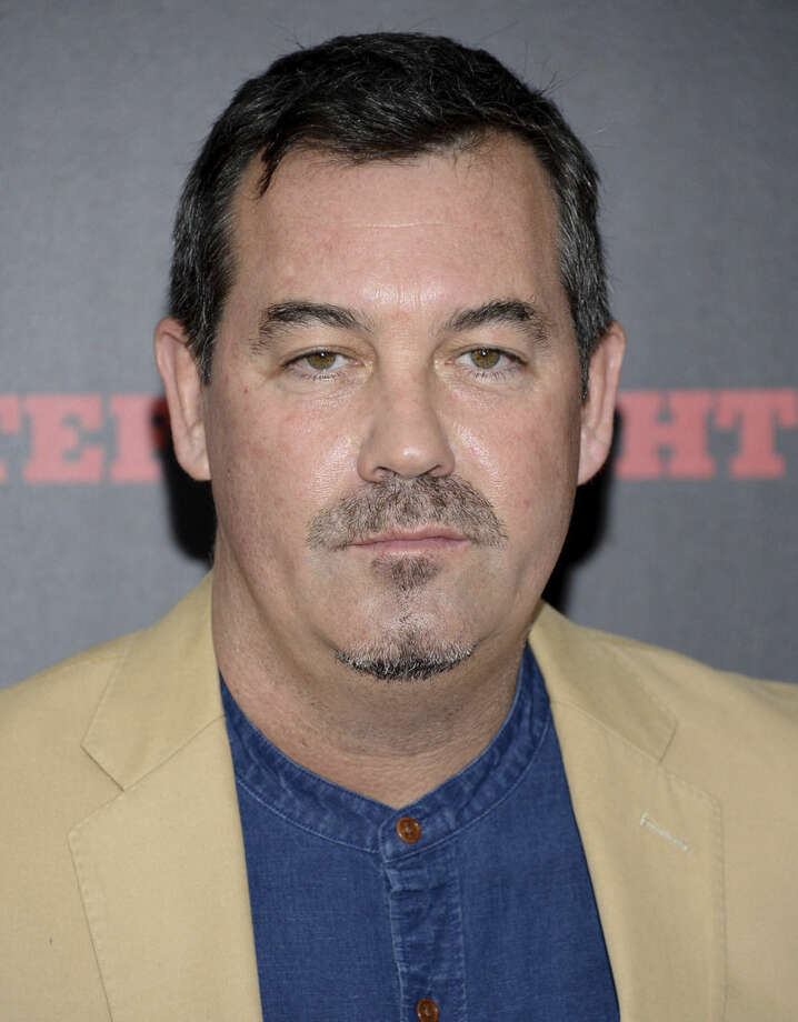 """FILE - In this Dec. 14, 2015 file photo, Tony Award-winning composer Duncan Sheik attends the premiere of """"The Hateful Eight"""" in New York. Sheik is ready to let Broadway audiences hear how he turned the provocative, 1991 novel """"American Psycho"""" into one of the season's bravest pieces of musical theater. It opens April 21, 2016. (Photo by Evan Agostini/Invision/AP, File)"""