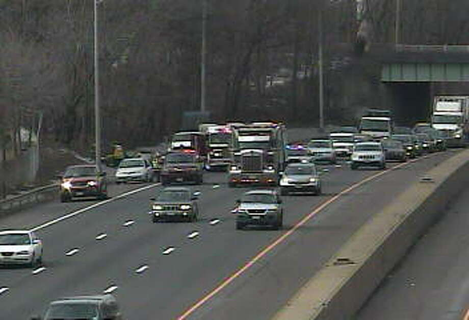I-95 accident at Exit 18