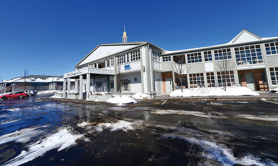 Hour photo / Erik Trautmann Building and Land Technology (BLT) has acquired The Westport Inn, a 117-room boutique hotel and conference center at 1595 Post Road East in Westport, for $14.5 million
