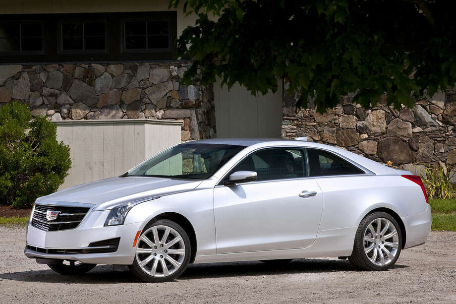 This undated picture provided by General Motors shows the 2015 Cadillac ATS Coupe. (AP Photo/General Motors)
