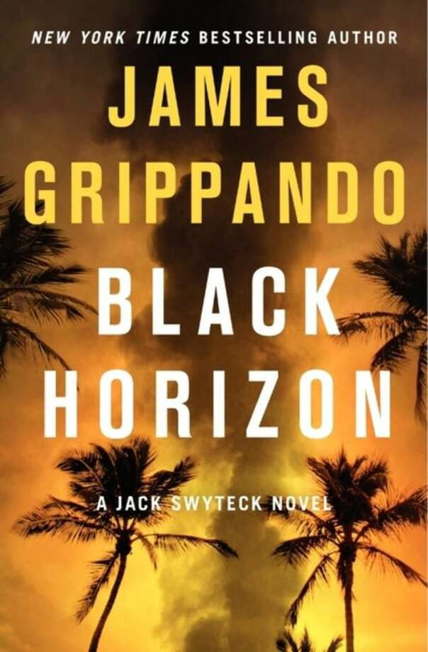 "This book cover image released by Harper shows ""Black Horizon,"" by James Grippando. (AP Photo/Harper)"