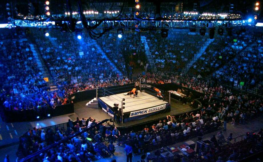 World Wrestling Entertainment (WWE) held its Smackdown event at Mohegan Sun in Uncasville, Conn. on Tuesday April 20, 2010. Photo: Christian Abraham / Connecticut Post no sale