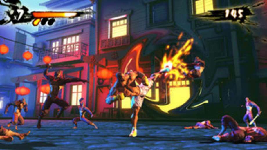 "This photo provided by Indiegogo/Big Deez Productions shows a screenshot of the video game, ""Shaq Fu: A Legend Reborn."" Shaquille O'Neal says he's seeking redemption for ""Shaq Fu,"" his infamous fighting game originally released in 1994 that's now considered to be among the worst games ever made. The four-time NBA champion is launching a crowdfunding campaign to create a ""Shaq Fu"" follow-up titled ""Shaq Fu: A Legend Reborn."" (AP Photo/Indiegogo/Big Deez Productions)"