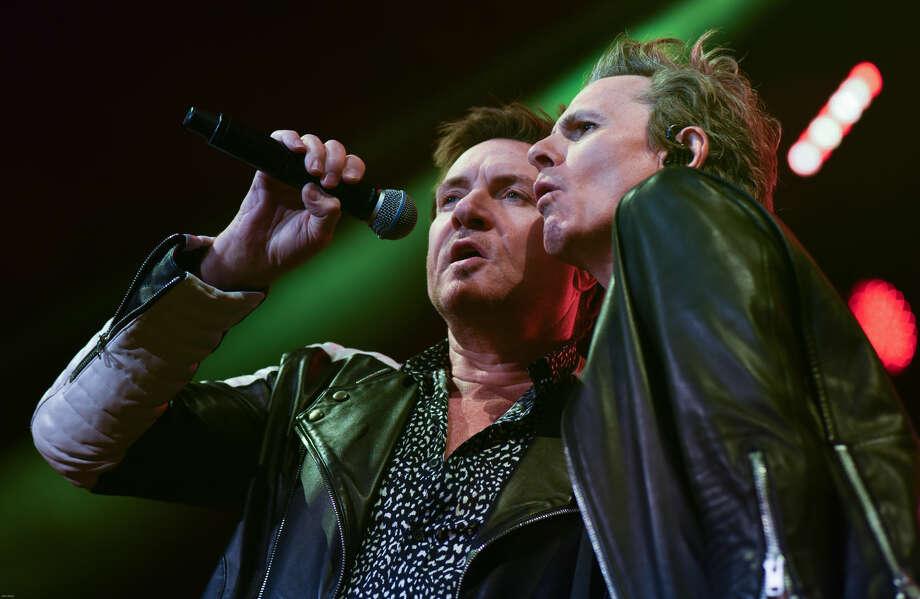 The band Duran Duran played the Mohegan Sun Arena on Thursday night.