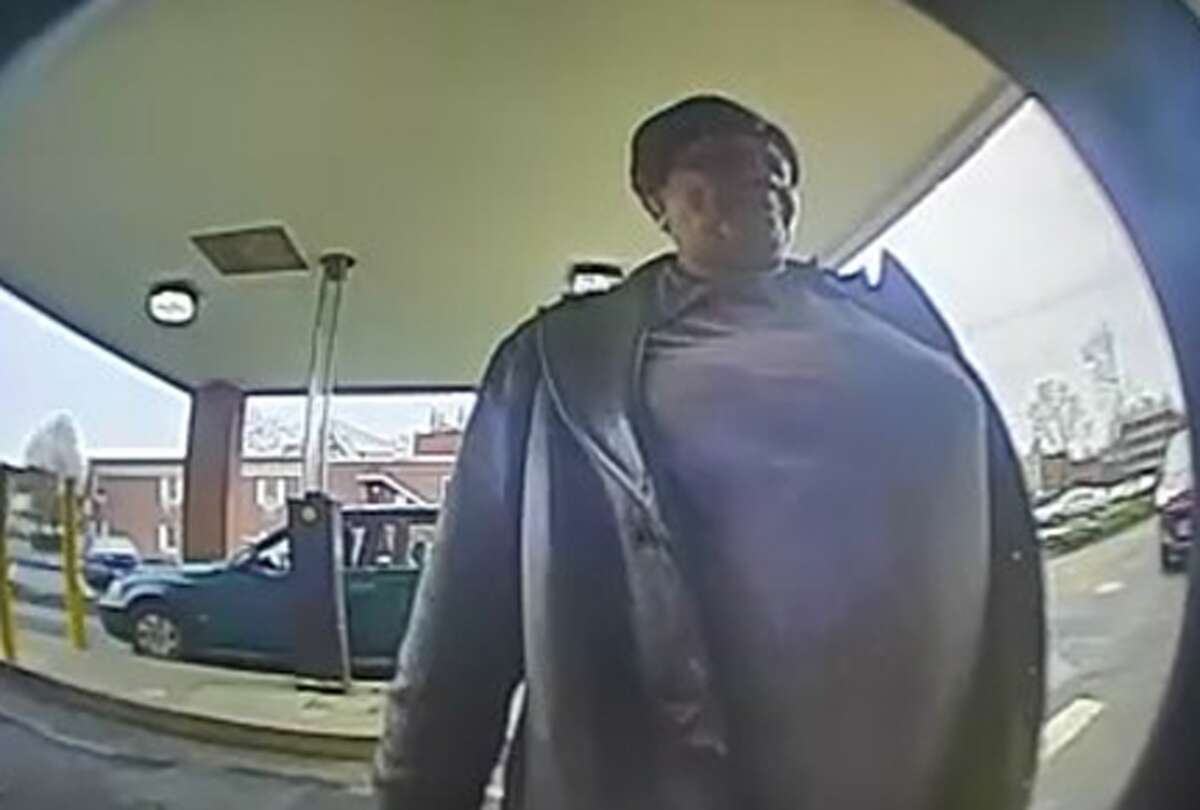 Police would like the public's help in identifying the suspect in the surveillance photo.
