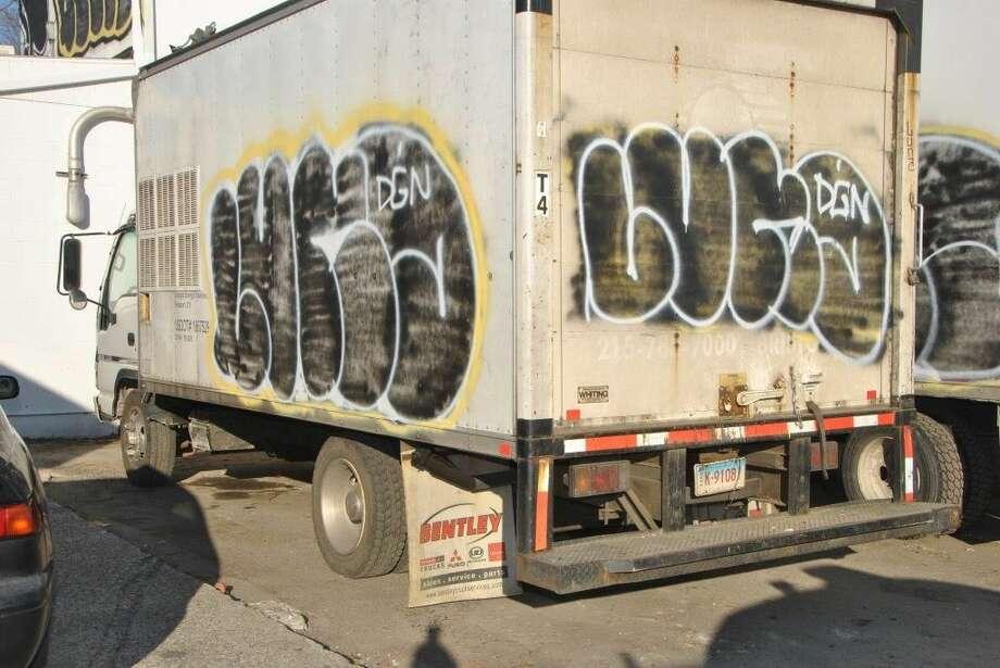 "Police believe the vandals go by the moniker ""Luna."""