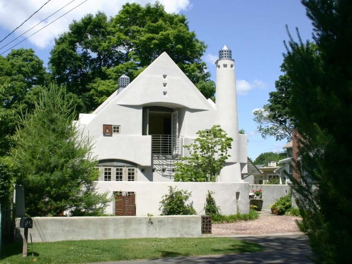 32 Crest Rd, Norwalk, CT 06853 3 beds3 baths2,600 sqft Features: Private walled garden, His and hers baths, pool, finished lower level, walking distance to seaside village of Rowayton. (Credit:Zillow)