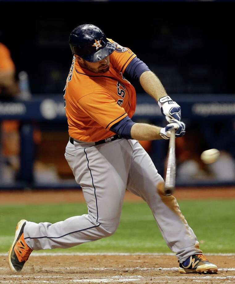 Tyler White returned to the Astros a week ago and has hits in four of his six games. Photo: Chris O'Meara, Associated Press / Copyright 2016 The Associated Press. All rights reserved. This material may not be published, broadcast, rewritten or redistribu