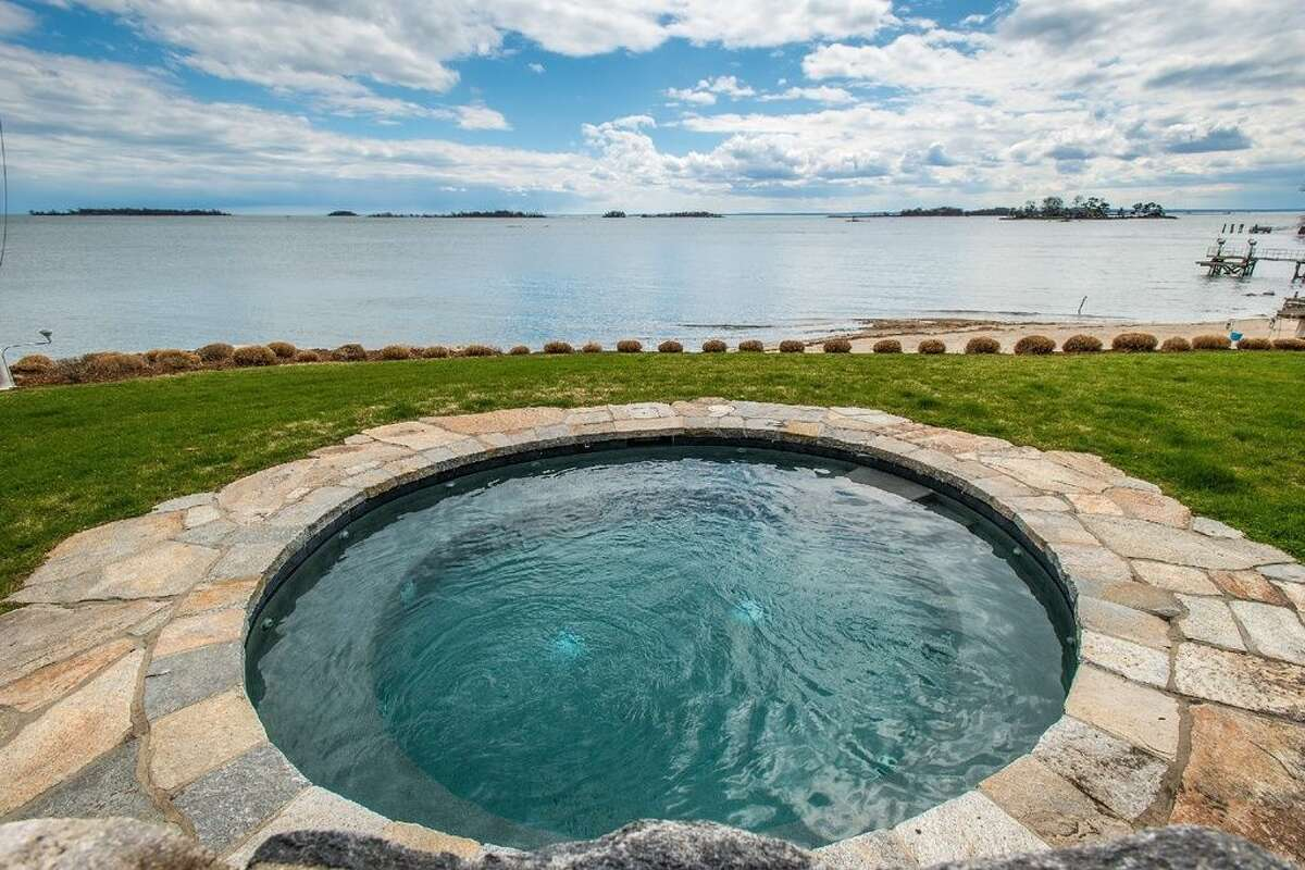 10 Woodland Rd, Norwalk, CT 06854 5 beds6 baths6,088 sqft Features: Master suite with a spa bath, tennis courts, beach, dock and club house. (Credit:Zillow)