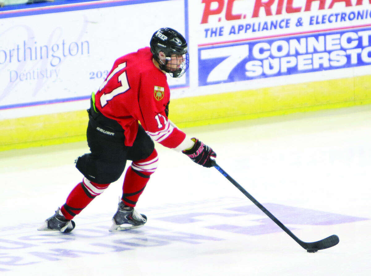 Fairfield Prep's Ryan Deering has scored 14 goals and 15 assists this season. (Contributed Photo)