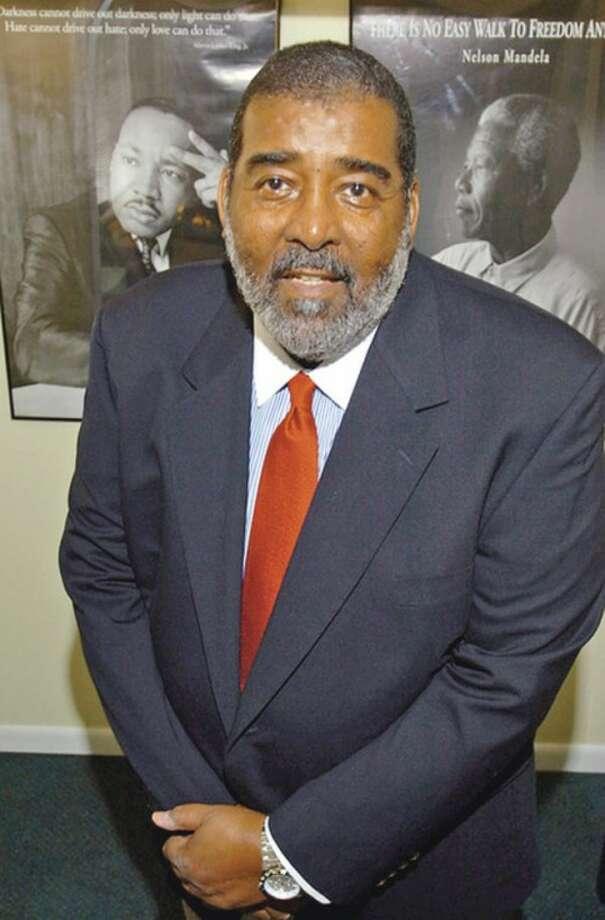 Hour photo / Erik TrautmannThe Reverend James Carter is retiring form the Norwalk Children's Foundation as Executive Director.