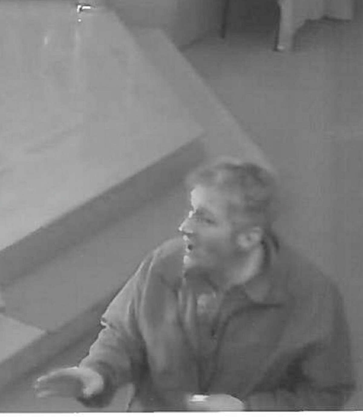 Police are searching for this man, who they say stole a donation box containing about $100 from Our Lady of Fatima Church on Danbury Road.