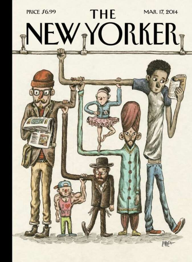 The March 17 cover of The New Yorker