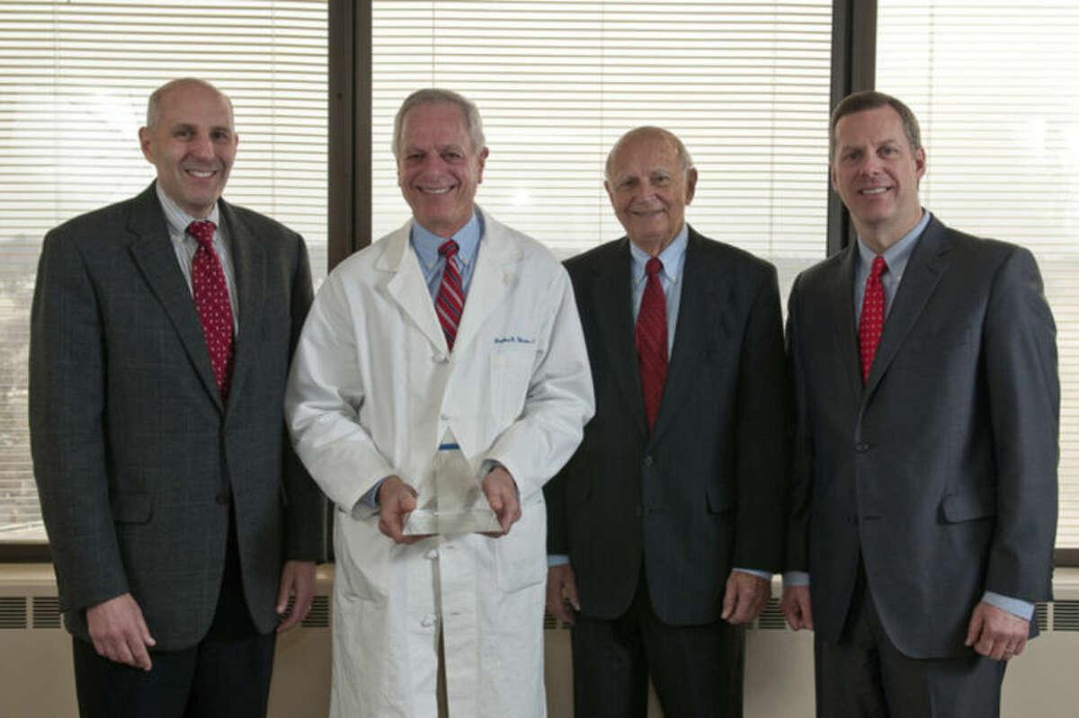 Dr. Stephen M. Winter receives prestigious Quality Award. Contributed photo.