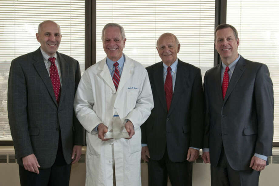 Dr. Stephen M. Winter receives prestigious Quality Award. Contributed photo.