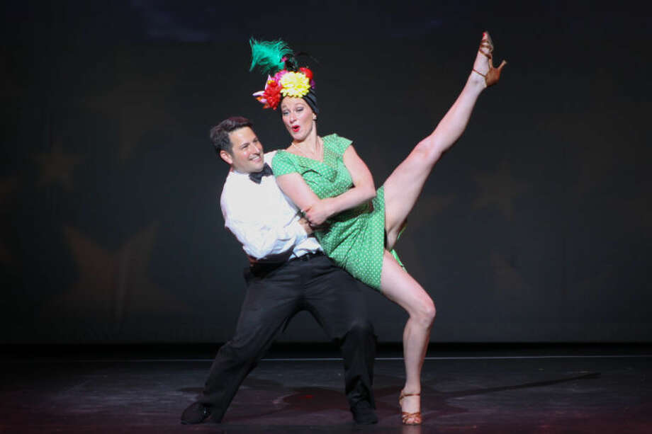 Winner of the 2013 Judges' Choice Award, Dr. Nolan Zeide of Stamford and his professional partner, Meredith Landphair of Dance With Me, Stamford.