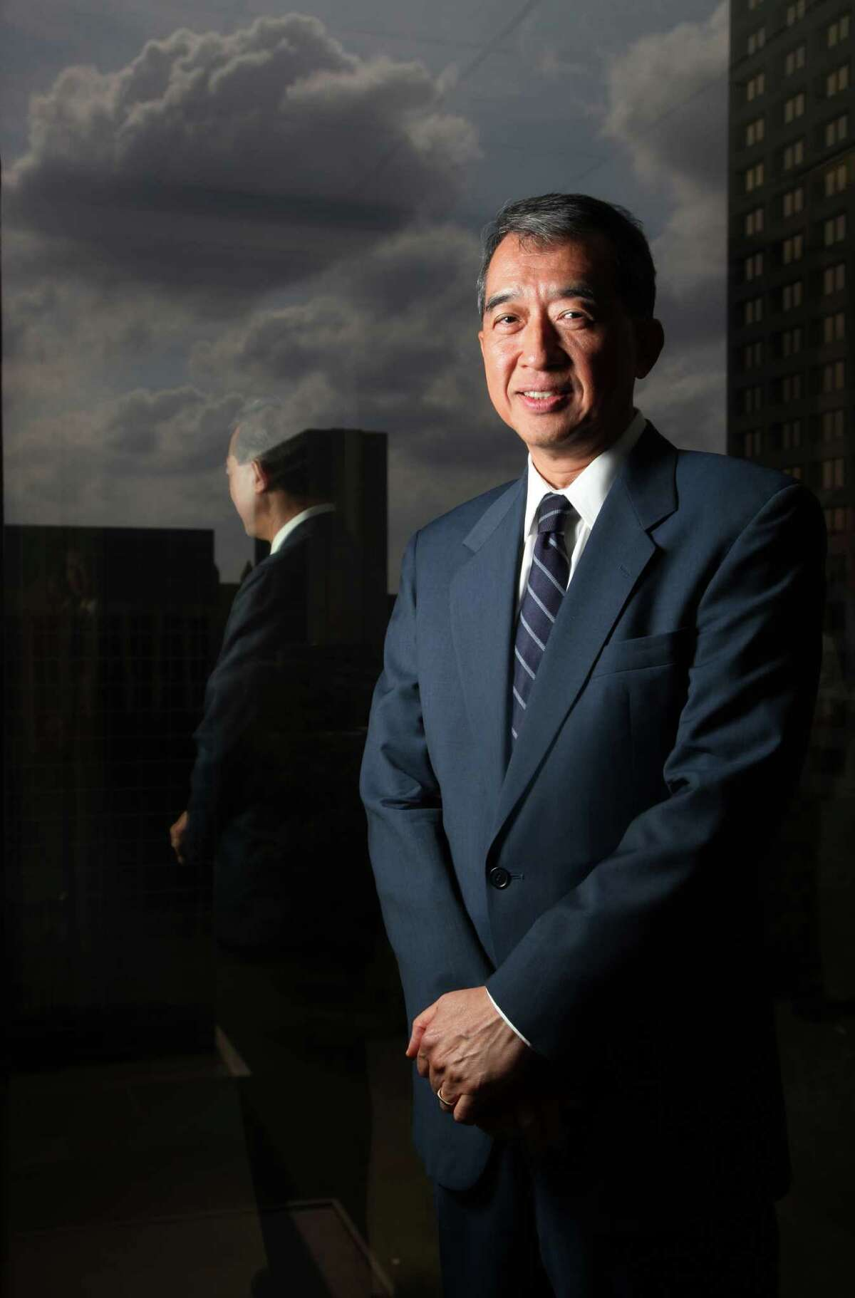 Albert Chao, CEO of Westlake Chemical, one of the top 10 public companies in annual Chronicle 100 special section on Tuesday, May 10, 2011, in Houston. ( Mayra Beltran / Houston Chronicle )