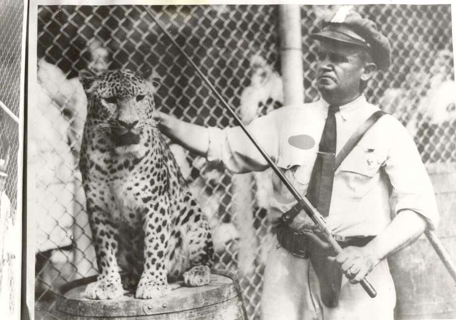 AN UNDATED PHOTO OF FORMER ZOO DIRECTOR HANS NAGEL OF THE HOUSTON ZOO. / handout