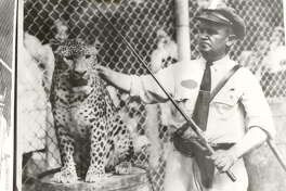 Former Houston Zoo director Hans Nagel