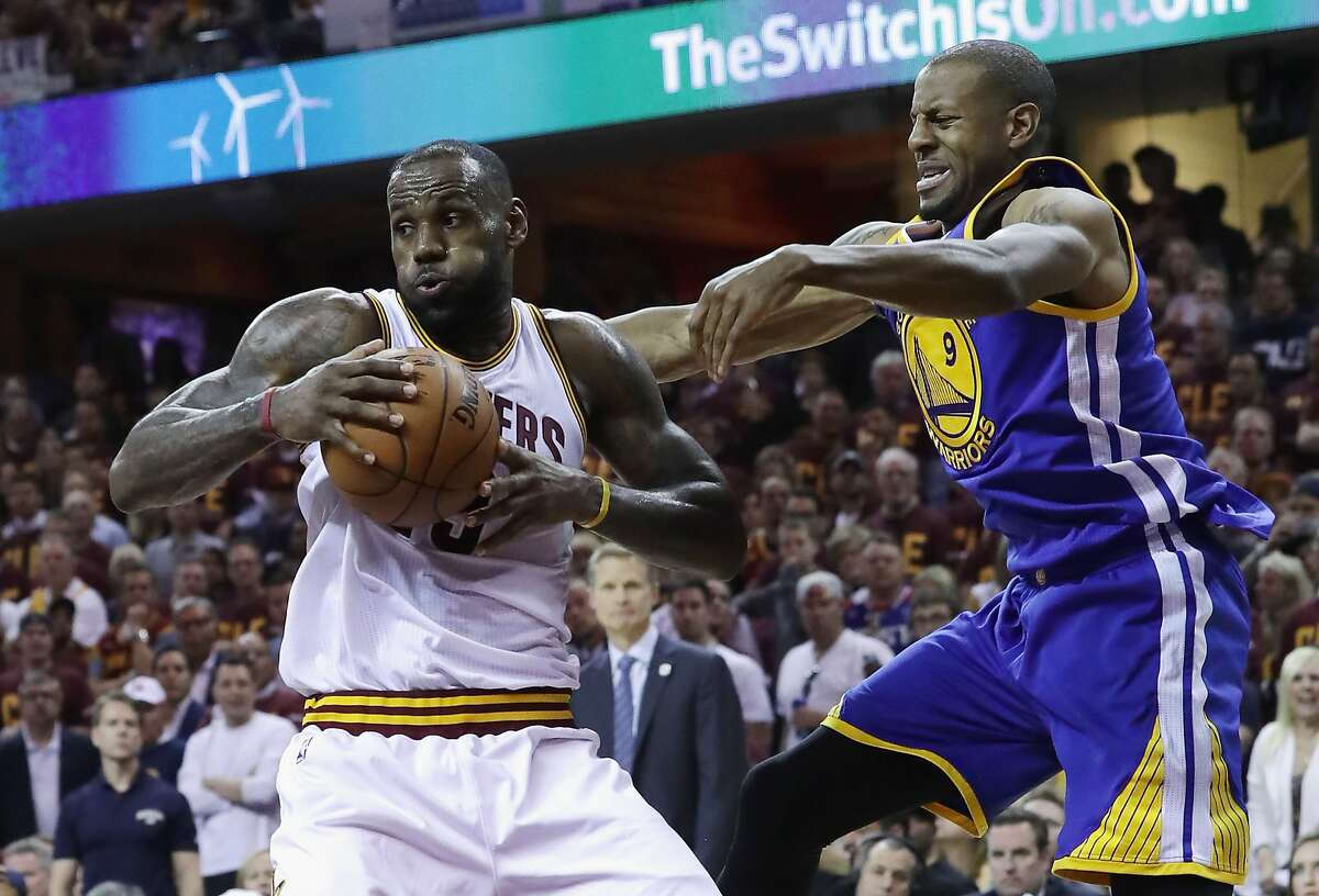 3. The Warriors are winning the series because of their defense, and now they lose their best defender. It might mean more minutes for Iguodala on LeBron James.