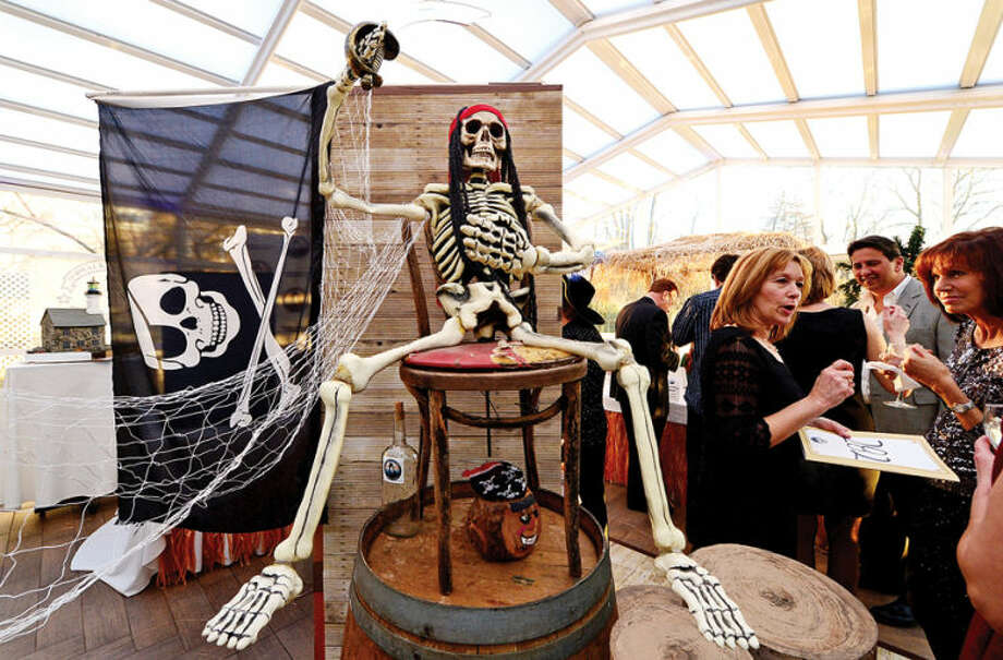 Hour photo / Erik Trautmann The 2014 Norwalk Seaport Association Pirate's Ball Gala was held at the Norwalk Inn Saturday.