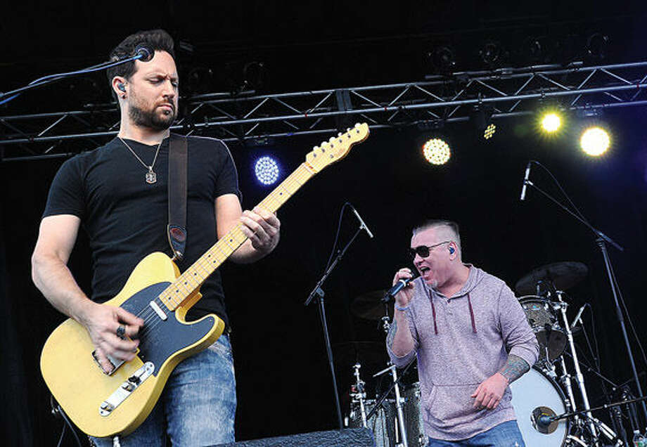 Smash Mouth performs Sunday on the final day of the Oyster Festival. Hour photo/Matthew Vinci