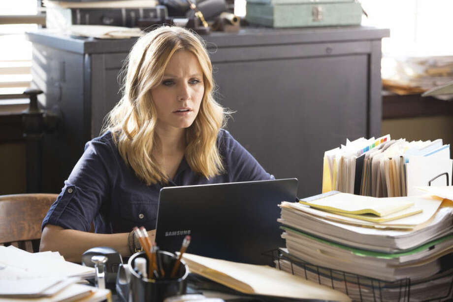 "This image released by Warner Bros. Pictures shows Kristen Bell in a scene from ""Veronica Mars."" (AP Photo/Warner Bros. Pictures, Robert Voets)"