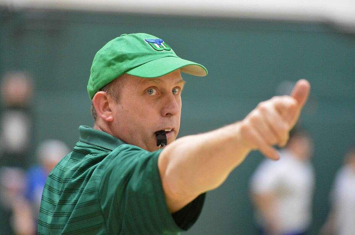 Hour Photo/Alex von Kleydorff Norwalk High School's sixth annual Charity Dodgeball Tournament to benefit local charities.